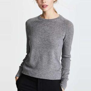 EQUIPMENT Sloane Gray Cashmere Crew Sweater XS